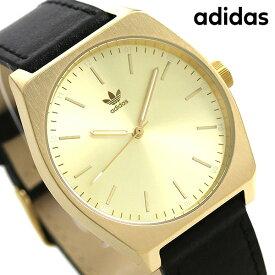 15日ならさらに+9倍に10%割引クーポン! アディダス オリジナルス 時計 メンズ レディース 腕時計 Z05510-00 adidas プロセス_L1 ゴールド×ブラック【あす楽対応】
