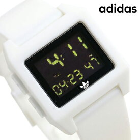 15日ならさらに+9倍に10%割引クーポン! アディダス オリジナルス デジタル メンズ レディース 腕時計 Z15100-00 adidas アーカイブ_SP1 ブラック×ホワイト【あす楽対応】