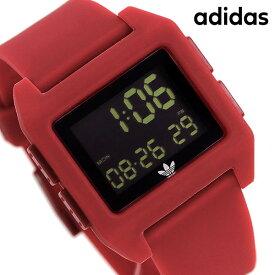 15日なら全品5倍以上で店内ポイント最大42倍! アディダス adidas 時計 デジタル メンズ レディース 腕時計 アディダスオリジナルス Z15203-00 ブラック×レッド【あす楽対応】