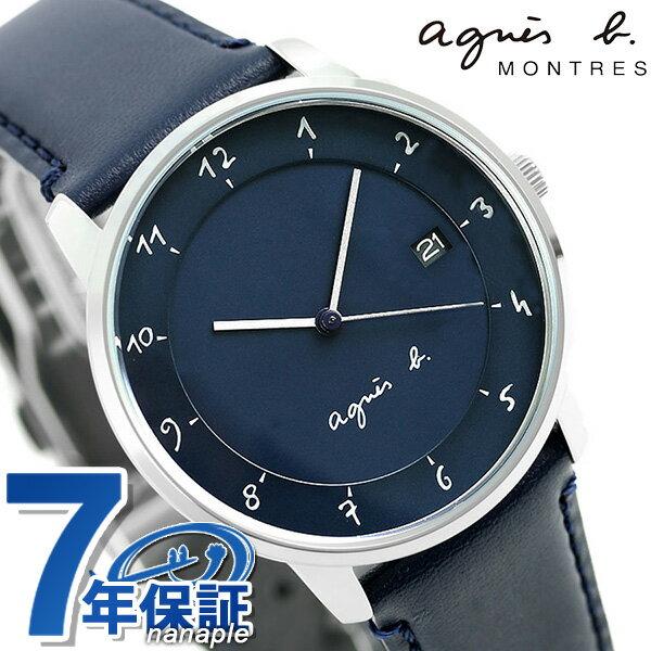 アニエスベー 時計 マルチェロ 日本製 メンズ FBRK999 agnes b. ネイビー アニエス・ベー 腕時計【あす楽対応】