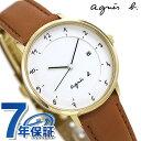 アニエスベー 時計 マルチェロ 日本製 レディース FBSK944 agnes b. ホワイト アニエス・ベー 腕時計