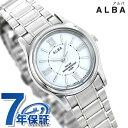 セイコー アルバ ソーラー レディース AEGD553 SEIKO ALBA 腕時計 ホワイト