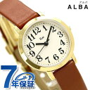 セイコー アルバ リキワタナベ コレクション レディース アイボリー AKQK411 SEIKO ALBA 腕時計 時計