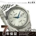 セイコー アルバ 日本製メカモデル メンズ 腕時計 AQHA001 SEIKO ALBA 自動巻き シルバー