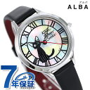 セイコー アルバ ジブリ 魔女の宅急便 ジジ 30周年記念 限定モデル レディース 腕時計 ACCK709 SEIKO ブラック【あす…