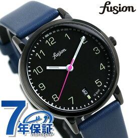 セイコー アルバ フュージョン fusion 70's ミリタリーウォッチ メンズ レディース 腕時計 SEIKO AFSJ401 シティミリタリー ブラック×ブルー