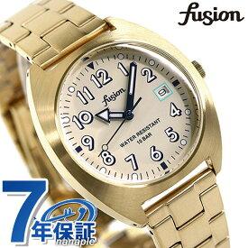 【15日はさらに+4倍でポイント最大37.5倍】 セイコー アルバ フュージョン スクールシリーズ メンズ レディース 腕時計 AFSJ403 SEIKO ALBA fusion アイボリー×ゴールド【あす楽対応】