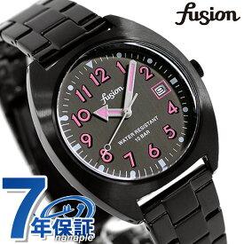 【15日はさらに+4倍でポイント最大37.5倍】 セイコー アルバ フュージョン スクールシリーズ メンズ レディース 腕時計 AFSJ404 SEIKO ALBA fusion オールブラック 黒【あす楽対応】