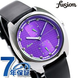 セイコー アルバ フュージョン fusion 90's ネオンカラー レトロ メンズ レディース 腕時計 SEIKO AFSK404 ファッションミックス パープル×ブラック