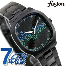 【15日はさらに+4倍でポイント最大37.5倍】 セイコー アルバ フュージョン 80's ディスコ スクエア メンズ レディース 腕時計 AFSK406 SEIKO ALBA fusion ブラック【あす楽対応】