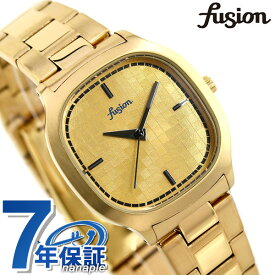 セイコー アルバ フュージョン 80's ディスコ スクエア メンズ レディース 腕時計 AFSK407 SEIKO ALBA fusion ゴールド