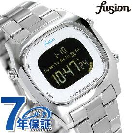 セイコー アルバ フュージョン fusion 80's デジタル メンズ レディース 腕時計 AFSM402 SEIKO スクエア ブラック 時計