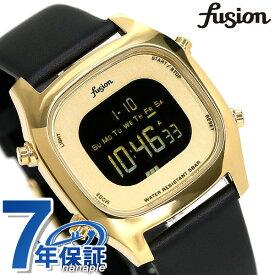 セイコー アルバ フュージョン fusion 80's デジタル メンズ レディース 腕時計 AFSM403 SEIKO スクエア ブラック 革ベルト 時計