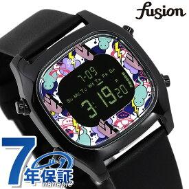 【15日はさらに+4倍でポイント最大37.5倍】 セイコー アルバ フュージョン クリエイターズ コラボ 限定モデル メンズ レディース 腕時計 AFSM701 SEIKO ALBA fusion オールブラック×マルチカラー【あす楽対応】