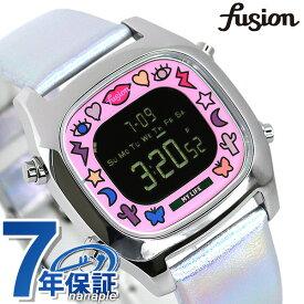 セイコー アルバ フュージョン クリエイターズ コラボ 限定モデル メンズ レディース 腕時計 AFSM702 SEIKO ALBA fusion ブラック×マルチカラー【あす楽対応】