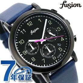 セイコー アルバ フュージョン fusion 70's ミリタリーウォッチ メンズ レディース 腕時計 SEIKO AFST401 シティミリタリー ブラック×ブルー