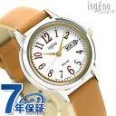 セイコー 腕時計 レディース SEIKO ソーラー カレンダー AHJD109 アルバ アンジェーヌ 革ベルト 時計【あす楽対応】