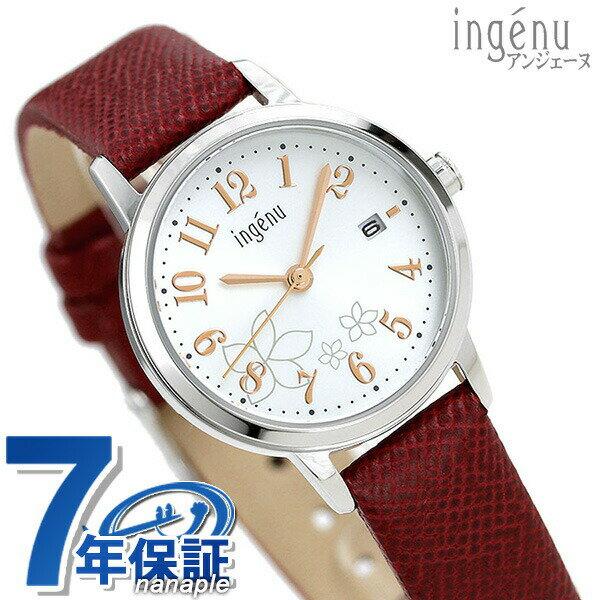 セイコー アルバ アンジェーヌ レディース 腕時計 AHJK443 SEIKO シルバー×レッド【あす楽対応】