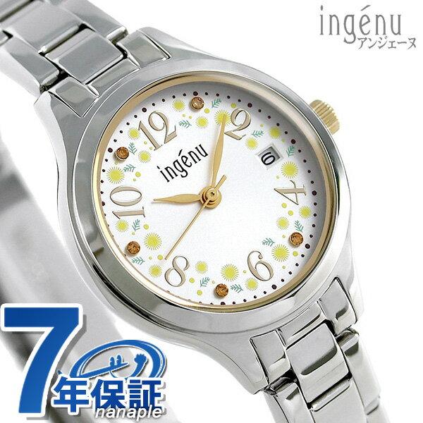 【当店なら!さらにポイント+4倍!21日1時59分まで】 セイコー アルバ アンジェーヌ ミモザの日 限定モデル AHJT704 SEIKO レディース 腕時計【あす楽対応】