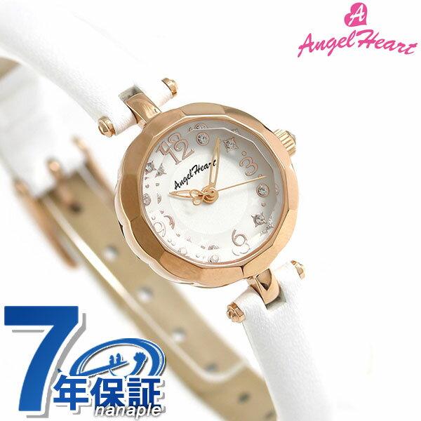 【ノベルティ付き♪】エンジェルハート ブリリアントフラワー レディース 腕時計 BF21P-WH Angel Heart ホワイト×ホワイト 時計【あす楽対応】