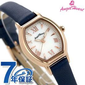 【20日は10%割引クーポンにポイント最大 27倍】 エンジェルハート レディース 腕時計 トノー ソーラー リュクス 23mm LU23P-NV AngelHeart 革ベルト 時計【あす楽対応】