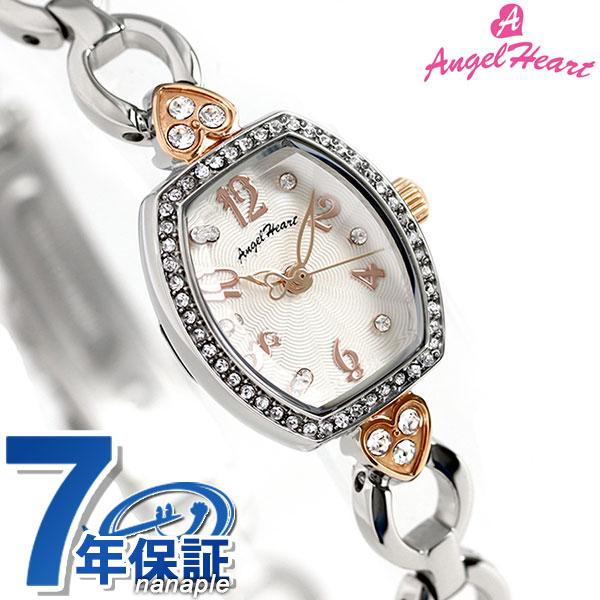 【ノベルティ付き♪】エンジェルハート スターライト レディース 腕時計 SL18RSS Angel Heart ホワイト 時計