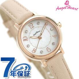 【20日は10%割引クーポンにポイント最大 27倍】 エンジェルハート レディース 腕時計 ソーラー トゥインクルハート 24mm THN24P-PK AngelHeart 革ベルト 時計【あす楽対応】
