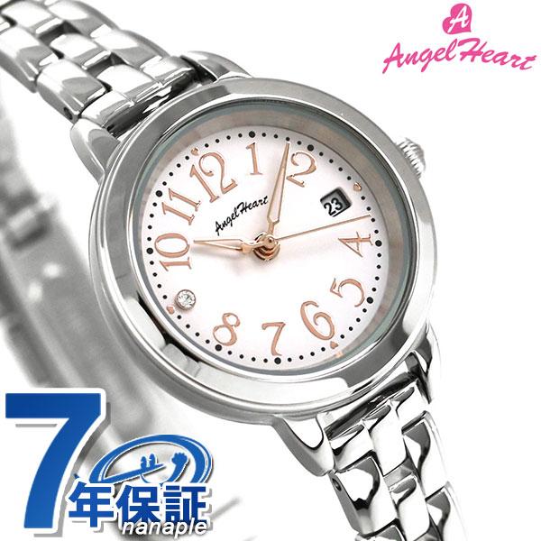 【ノベルティ付き♪】エンジェルハート トゥインクルタイム ソーラー レディース 腕時計 TT26SP AngelHeart シルバー 時計【あす楽対応】