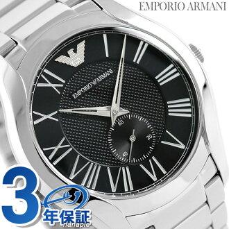 エンポリオアルマーニバレンテスモールセコンドメンズ AR11086 watch EMPORIO ARMANI black