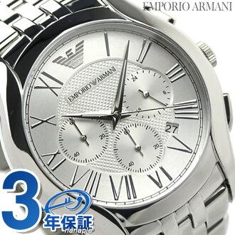 Emporio Armani classical music chronograph AR1702 men watch quartz EMPORIO ARMANI silver