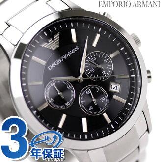 EMPORIO ARMANI Emporio Armani men clock chronograph black AR2434