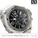 アルマーニ エクスチェンジ クロノグラフ メンズ 腕時計 AX1501 AX ARMANI EXCHANGE クオーツ ブラック
