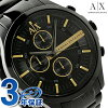 알마니 익스체인지 스마트 크로노그래프 AX2164 AX ARMANI EXCHANGE 맨즈 손목시계 올 블랙