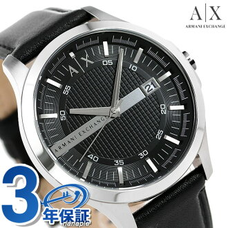Armani clock men Armani exchange watch AX2101 clock black