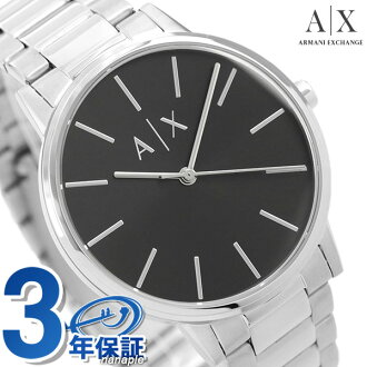 Armani clock men black AX2700 AX ARMANI EXCHANGE Armani exchange watch Quaid