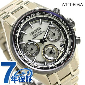 CC4004-66P シチズン アテッサ エコドライブ GPS 衛星電波時計 限定モデル メンズ 腕時計 F950 チタン CITIZEN ムーンゴールド 金 時計【あす楽対応】