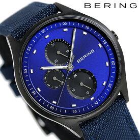 【今ならポイント最大32倍】 ベーリング チタン メンズ 腕時計 チタ二ウム 41mm 11741-827 BERING ブルー 時計【あす楽対応】