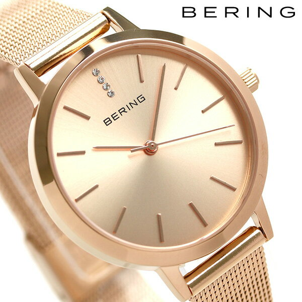 ベーリング 時計 クラシック 34mm クオーツ レディース 13434-366 BERING 腕時計 ローズゴールド 時計【あす楽対応】
