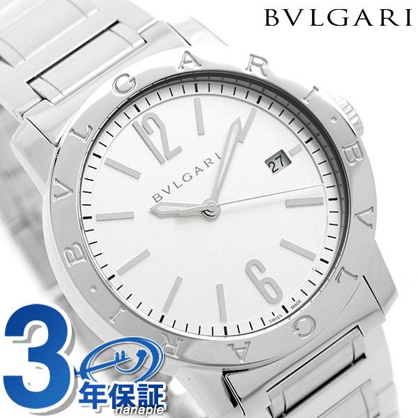 ブルガリ 時計 ブルガリブルガリ 自動巻き メンズ BB39WSSD BVLGARI 腕時計 シルバー 【あす楽対応】