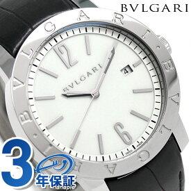 【今ならポイント最大18倍】 ブルガリ BVLGARI ブルガリブルガリ 41mm 自動巻き メンズ BB41WSLD 腕時計 ホワイト【あす楽対応】