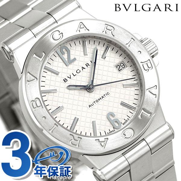 ブルガリ 時計 BVLGARI ディアゴノ 35mm 自動巻き 腕時計 DG35C6SSD シルバー