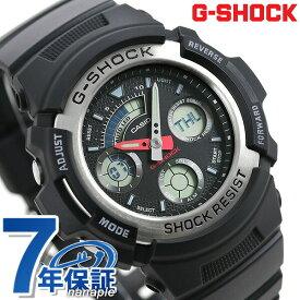 G-SHOCK ブラック CASIO AW-590-1ADR 腕時計 カシオ Gショック 時計【あす楽対応】