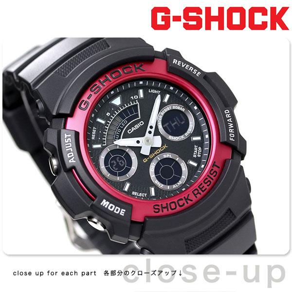 G-SHOCK CASIO AW-591-4ADR アナデジ 腕時計 カシオ Gショック レッド 時計【あす楽対応】