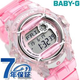 Baby-G レディース カシオ 腕時計 ベビーG REEF スケルトンピンク BG-169R-4DR 時計【あす楽対応】