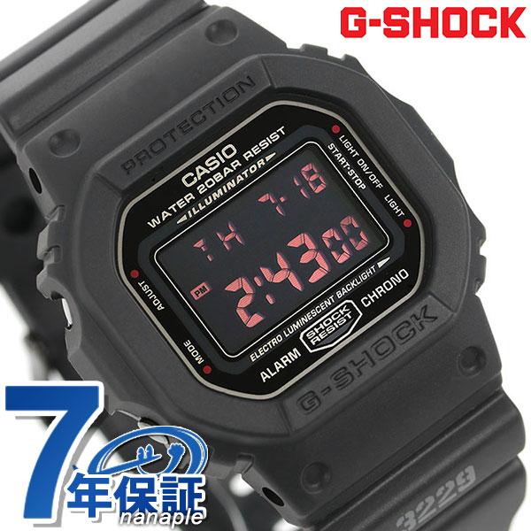 G-SHOCK CASIO DW-5600MS-1DR 腕時計 カシオ Gショック レッドアイ 時計【あす楽対応】