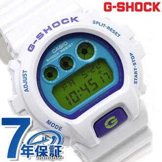 DW-6900CS-7DR CASIO G-SHOCK G-打擊發瘋彩色白