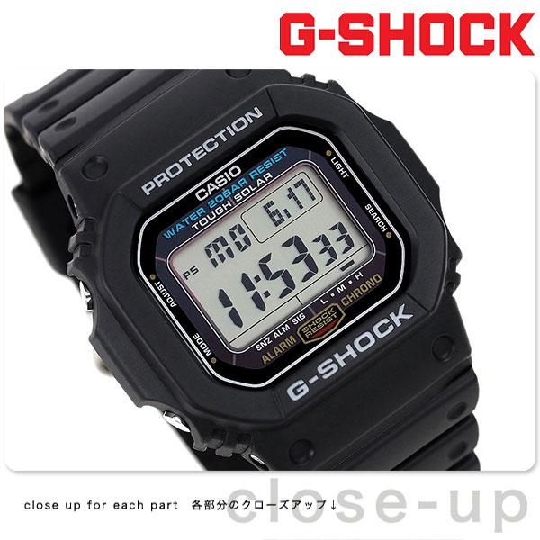 G-SHOCK ソーラー CASIO G-5600E-1DR 5600 腕時計 カシオ Gショック 時計【あす楽対応】