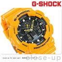 G-SHOCK CASIO GA-100A-9ADR 腕時計 カシオ Gショック Newコンビネーションモデル イエロー × ブラック