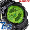 GA-110B-1A3DR CASIO G-SHOCK G-打擊超級·彩色黑色×綠色