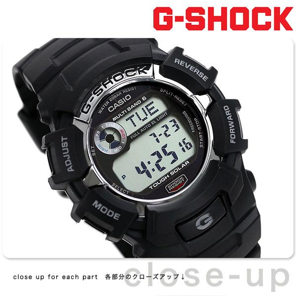 【当店なら!さらにポイント+4倍!21日1時59分まで】 G-SHOCK 電波 ソーラー CASIO GW-2310-1CR 腕時計 カシオ Gショック スタンダードモデル ブラック 時計【あす楽対応】